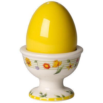 VILLEROY & BOCH Spring Fantasy Eierbecher Salzstreuer gelb Eierhalter Porzellan
