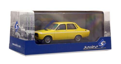 Neu Solido 421436440-1//43 Renault R12 Gordini 1970 Gelb