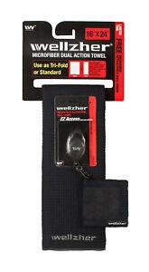 Wellzher-microfiber-golf-towel-FREE-BALL-TOWEL-Buy-2-Get-2-FREE