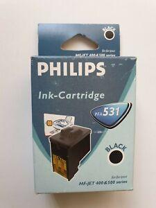 Genuine-Philips-PFA-531-Black-Ink-Cartridge-For-MF-JET-400-amp-500-Series-Original