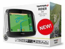 TomTom Tom Tom Rider 410 Great Rides Motorcycle Motorbike Sat Nav System