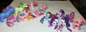 My Little Pony Lot of 15 Ponies, different sizes