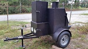 Weekender-Mobile-Kitchen-BBQ-Smoker-Grill-Trailer-Food-Truck-Concession-Business