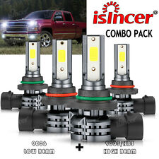 For Chevy Silverado 1500 2500hd 3500 1999 2006 6000k Led Headlights Light Bulbs Fits 2005 Chevrolet Silverado 2500 Hd Ls