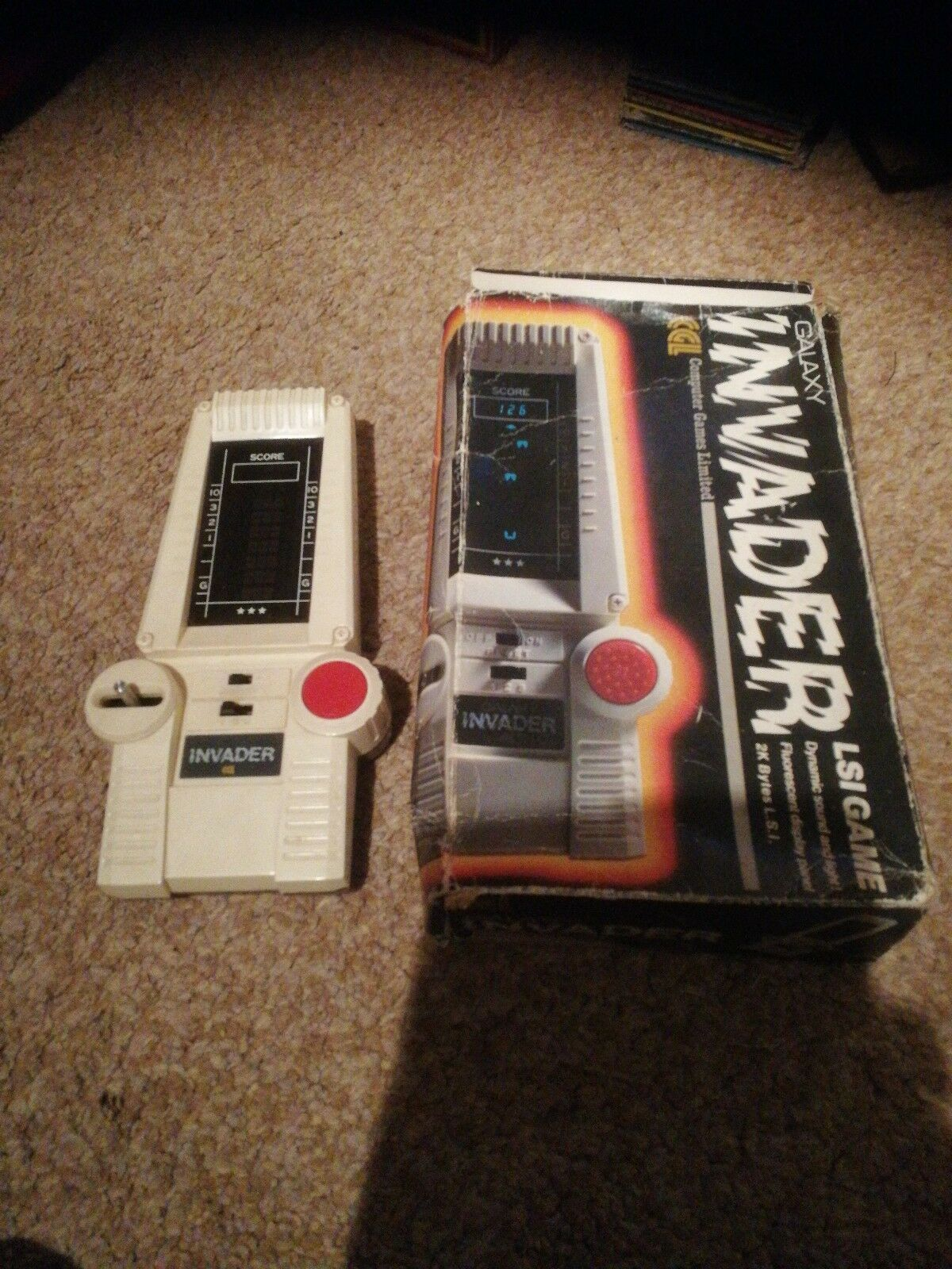 Galaxy invader lsi game very rare