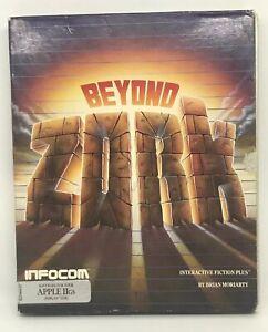 Beyond-Zork-Apple-IIGS-1987-Vintage-Rare-Apple-Game-Infocom-Complete-In-Box