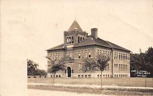 Leroy-Minnesota-Public-School-Building-1910-Real-Photo-Postcard-RPPC