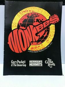 The Monkees 20th Anniversary World Tour Book 1986 - Columbia Pictures Industries