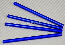 Axial SCX10 M3 Aluminum METAL RODS Trailing Arms Links 105mm x 6mm BLUE (4PCS)