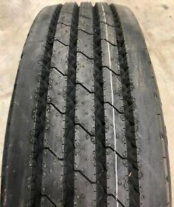 New Tire 255 70 22.5 Ironman I-181 AP Steer 16 Ply 255/70R22.5 Semi RV FS
