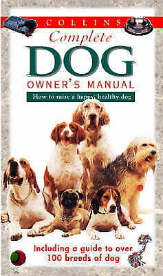 """""""AS NEW"""" Collins Complete Dog Owner's Manual, Horwitz, Debra,Marder, Amy, Book"""