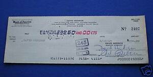 David-Hedison-Signed-Cheque-check-1967