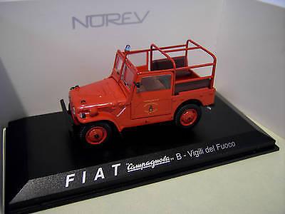 Voiture 1//43 Hachette NOREV FIAT Campagnola 1952 4 X 4
