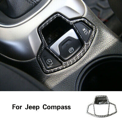 Interior Car Gear Shift Cover Decoratio for Jeep Compass 2017 2018