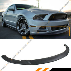 FOR 2013-2014 FORD MUSTANG R STYLE LOWER FRONT BUMPER LIP CHIN SPOILER SPLITTER