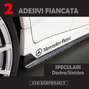 Details About 2 Aufkleber Mercedes Benz Seite Stickers Abziehbild