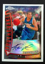 #/30 Kevin Love 2008-09 Topps Chrome Youthquake Refractor Auto RC #YOA6