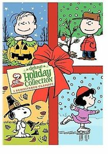 Halloween Thanksgiving Christmas Clipart.Details About Peanuts Deluxe Holiday Collection 3 Dvd Set Halloween Thanksgiving Christmas