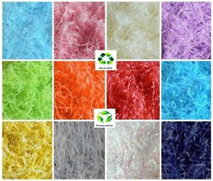 GIFT BAG PACKING LUXURY MINT GREEN FINE CUT QUALITY SHREDDED TISSUE PAPER
