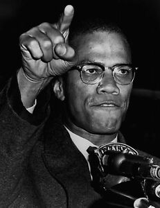 Inspirational Cool Life Malcolm X Quotes Poster A0 A1 A2 A3 A4 A5 A6