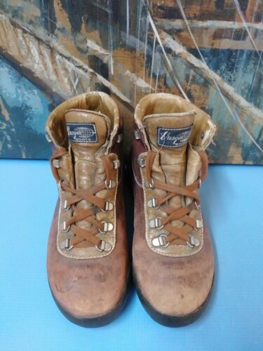 Sand M Boots Scarpe Womens Hiking Sz 6 Suede Vasque 7536 5wSgqRB