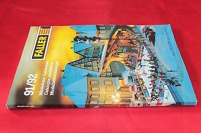 Affidabile Catalogo Modellismo Ferroviario Faller 1991/92 I Cataloghi Saranno Inviati Su Richiesta
