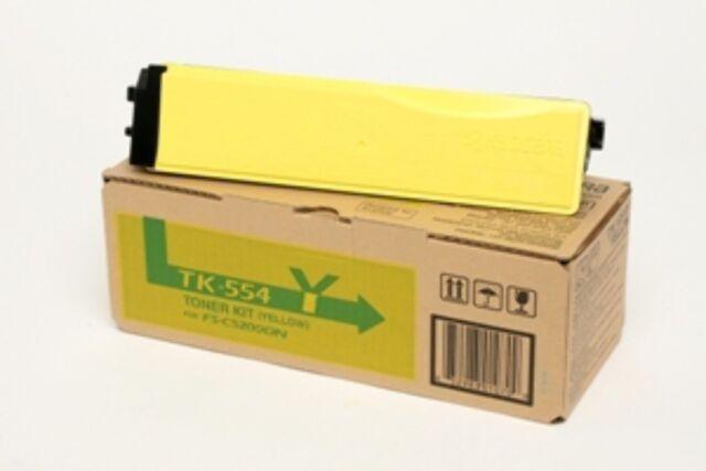 KYOCERA Toner Cartridge for FS-C5200DN Original yellow