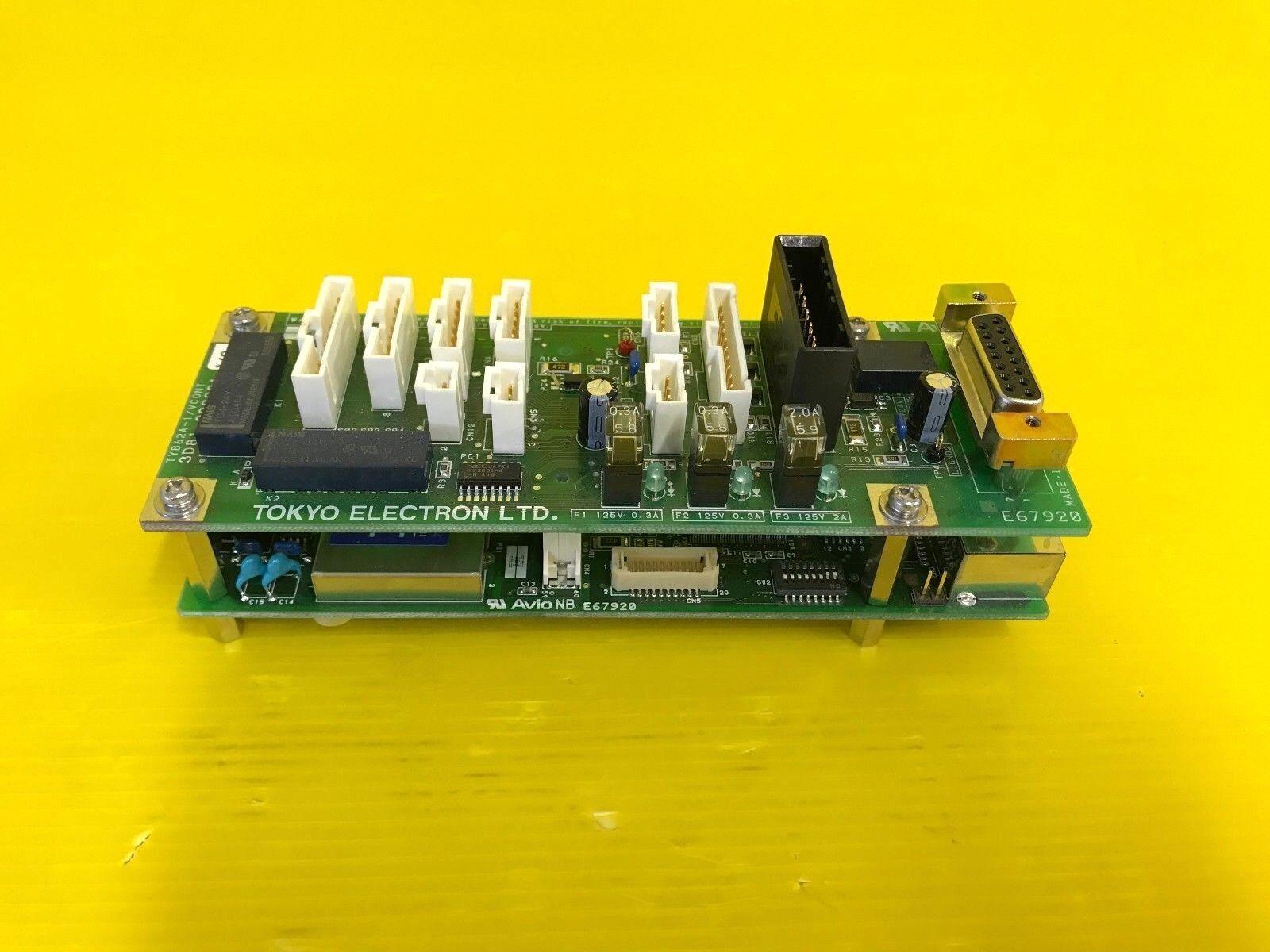 TEL TOKYO ELECTRON TYB62A-1 VCONT 3D81-000031-V3, TYB515-1 I016 3D81-000098-V1