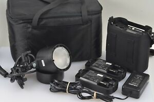 EXC-PROFOTO-B2-250-AIR-TTL-LOCATION-KIT-w-1-HEAD-AND-2-BATTERIES-CASE-NICE
