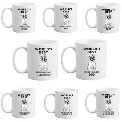 World/'s Best Nan//Nanny//Mum//Dad//Granny//Grandpa//Grandma//Grandad Chihuahua mug