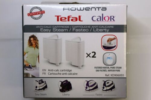 Tefal XD9060EO fasteo//LIBERTY Anti Scala x 4 CARTUCCE BOX PACK AFFARE