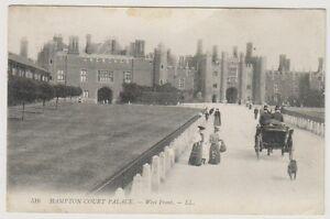 London/Surrey postcard - Hampton Court Palace - West Front - LL No 516 (A564)
