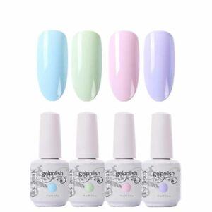 Clou Beaute 15ML UV Nail Gel Polish Varnish Semi Permanent