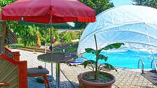 Angebot über Poolüberdachung  Rundpooldach Schwimmbadüberdachung Kindersicher