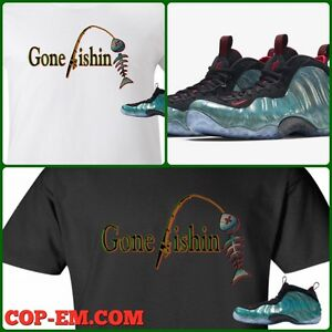 2ca0e13b035cc Details about EXCLUSIVE TEE SHIRT TO MATCH THE NIKE AIR FOAMPOSITE 1 GONE