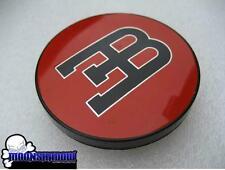 1 SINGLE GENUINE BBS BUGATTI ∃B RED WHEEL RIM CENTER CAP SMALL 55mm 20092