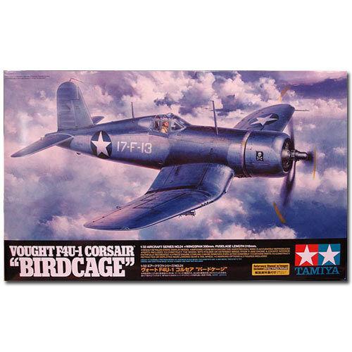 TAMIYA 60324 Vought F4U-1 Corsair Birdcage 1 32 Aircraft Model Kit
