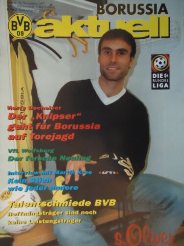 VfL Wolfsburg Programm 1997//98 Borussia Dortmund
