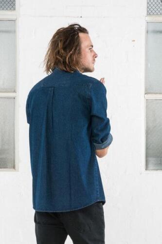 Camicia Denim L Large Risciacquo Classic Rolla's Rollas s Bnwt aXCqUxX