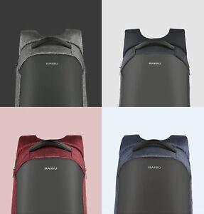 Unisex Anti-Diebstahl Tasche Laptop Rucksack bis 16 Zoll Diebstahlsiche<wbr/>rung USB