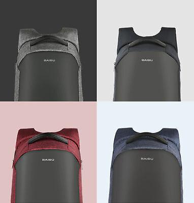 Rucksäcke Reisekoffer & -taschen Hingebungsvoll Unisex Anti-diebstahl Tasche Laptop Rucksack Bis 16 Zoll Diebstahlsicherung Usb