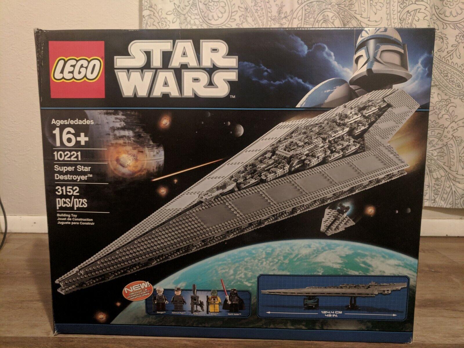 LEGO 10221 estrella guerras UCS Super estrella Destroyer completare  with scatola e uomoual  acquisti online