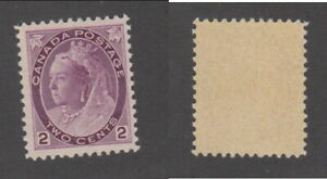 MNH Canada 2 Cent Queen Victoria Numeral Stamp #76 (Lot #19784)