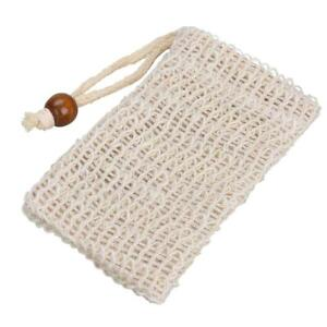 Organic-Hemp-Soap-Bags-Saver-Pouch-Foaming-Net-Rope-Exfoliating-Clean-Tools