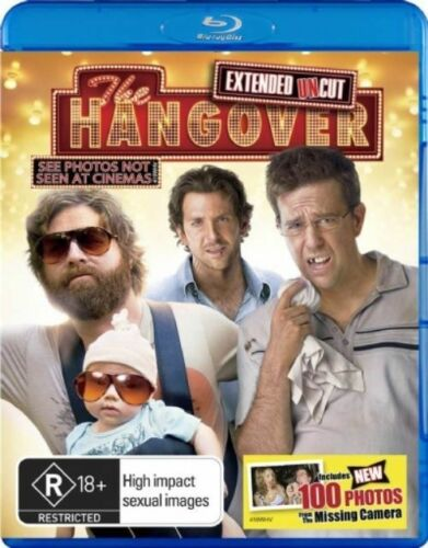 1 of 1 - The Hangover (Blu-ray, 2009) +Priority Post