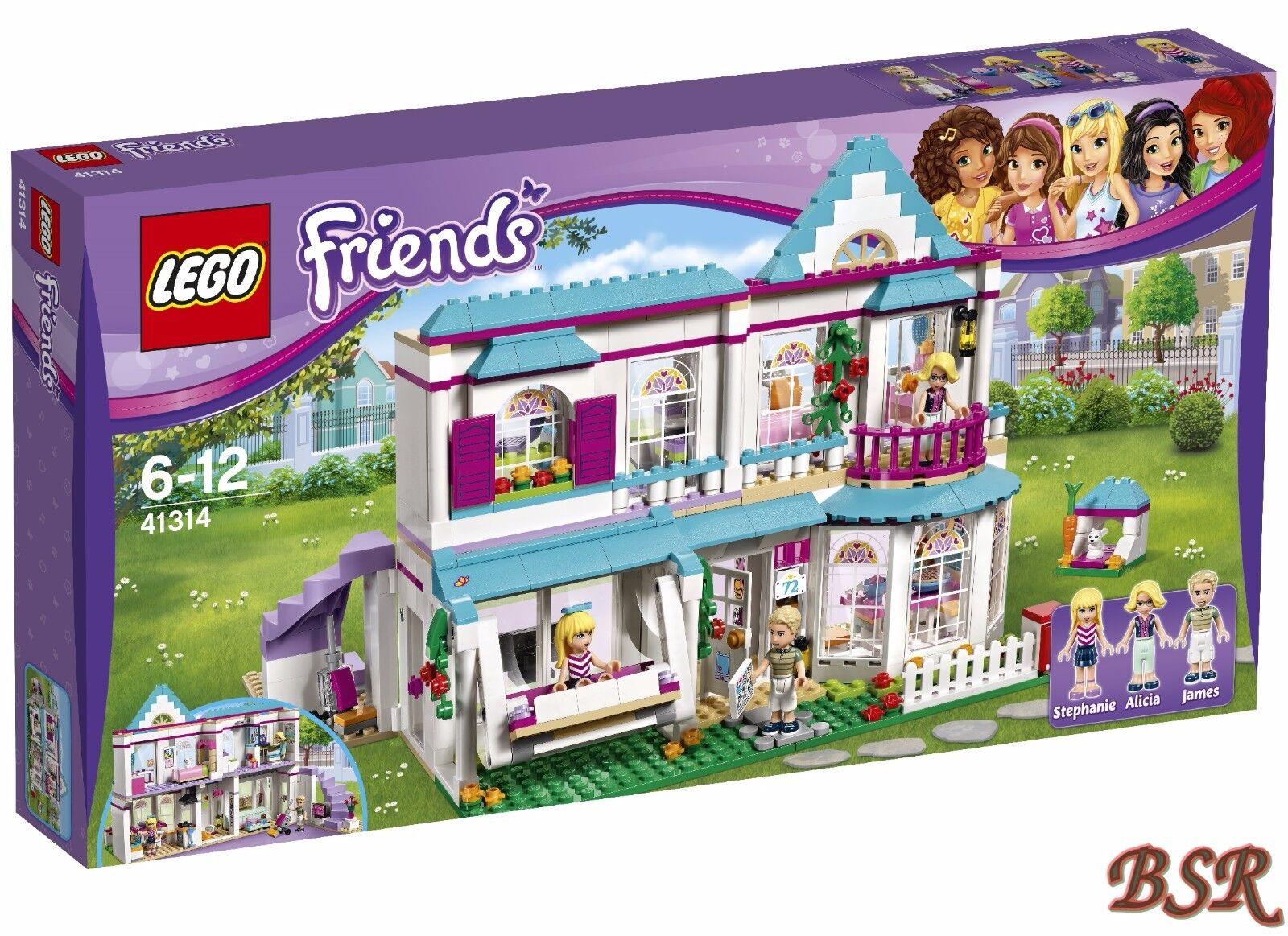 LEGO® Friends   41314 Stephanies Haus & 0.- Versand & OVP & NEU