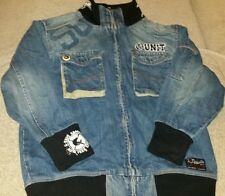 G Unit denim and black (fifty) jacket. Woman's small --8