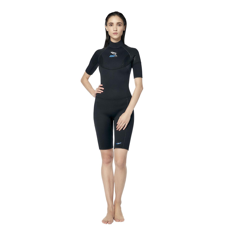 IST WS35 3mm korty met Super-Stretch Armpit Panels voor vrouwen