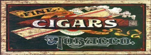 LODGE ART PRINT Fine Cigars Red Horse Studios