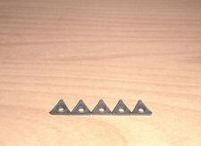 """Wendeplatten f. Klemmhalter 8x8, 5-teilig HM turning inserts set 5/16"""""""